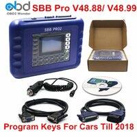 New Sbb V48.88 V48.99 Sbb Pro2 Obdii Key Programmer Auto Key Transponder Sbb Pro 2 48.88 48.99 Update Of 46.02 Pin Code Function