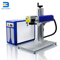 20Watt 30 Watt 50Watt Mini Fiber Laser Marking All Metal Materials Machine