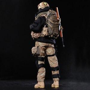 Image 3 - NFSTRIKE 30cm 1/6 מטלטלין צוות חקירת איור ריינג ר צבאי חייל דגם באיכות גבוהה פעולה איור חייל דגם