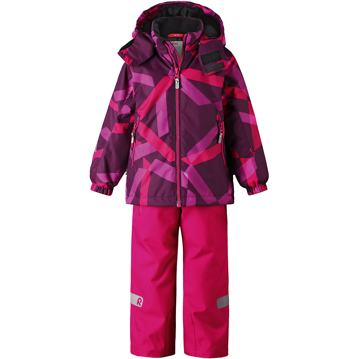 REIMA Babys Sets 8689207 for girls Polyester Baby Kit girl Jacket and pants santic mc07004v outdoor cycling windproof sunproof polyester jacket for men fluorescent green xl