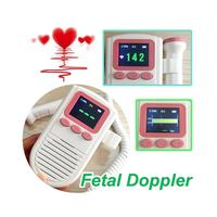 Hot sale Fetal Doppler Baby Fetal Heart Rate Monitor for Pregnant Women 2.0Mhz Probe with FHR Scale with Loudspeaker U2