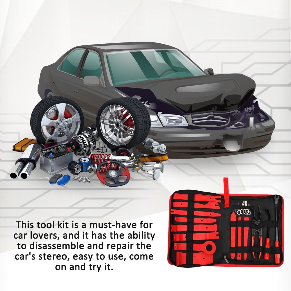 Buy 19pcs auto car audio radio interior - Auto interior restoration products ...