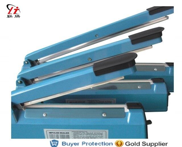 Impulse Sealer Heat Plastic Bag Sealer Impulse Sealing Machine Hand Press Heating Sealer Film Sealing F