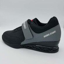 Профессиональная Обувь для тяжелой атлетики, обувь для приседания, кожаные Нескользящие кроссовки, высокое качество, ботинки для тяжелой атлетики A9061