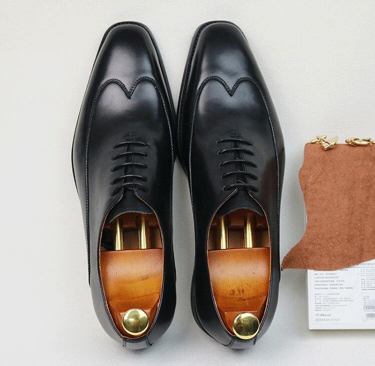 D'affaires Chaussures orange Hommes Orteils Main Véritable Formelle De Robe Richelieus Carré En À La Coudre Casual Black Cuir Derby Smart Italie xFwRFIqE