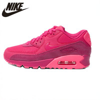 Nike New Arrival Air Max 90 Women's Running Shoes Authentic Lightweight Comfortable Breathable Sneakers #443817 600