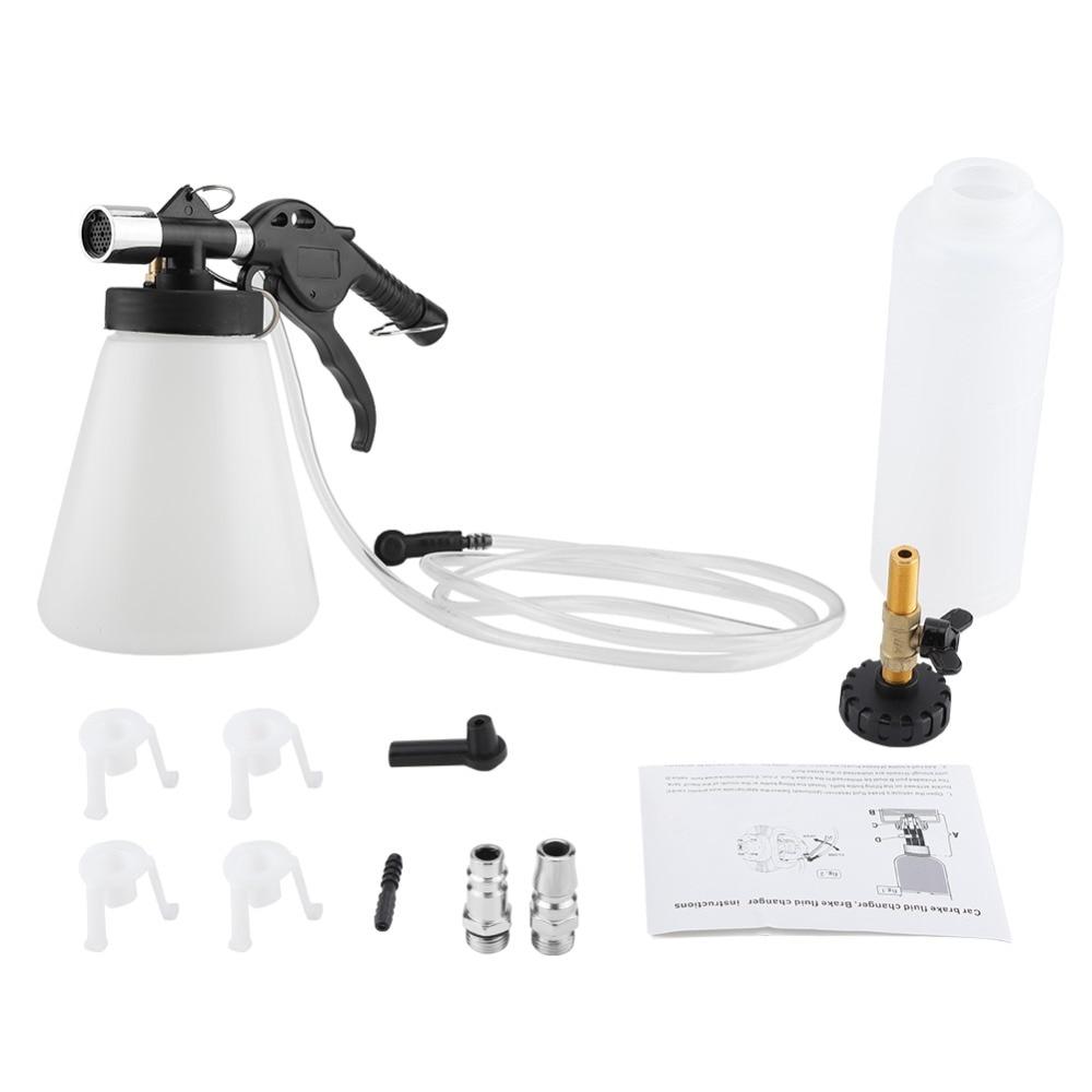 Car Brake Bleeder Bleeding Fluid Change Kit Air Pneumatic Garage Vacuum Tool Set 90-120psi With User Manual Wide Selection; Power Tools