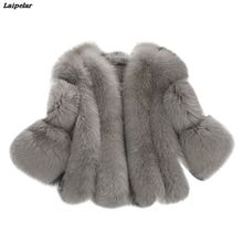 Furry Fur Coat Women Fluffy Warm Long Sleeve Outerwear Autumn Winter Coat Jacket Hairy Collarless Overcoat Plus Size 3XL A4 цены