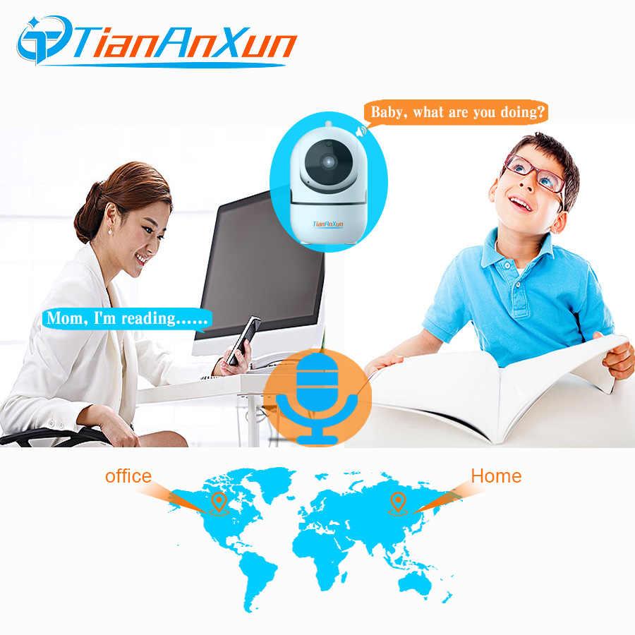 Tiananxun ip-камера Wifi мини-камера 1080P YCC365 облачная Домашняя безопасность беспроводной автоматическое отслеживание Wi-Fi Камеры Скрытого Наблюдения