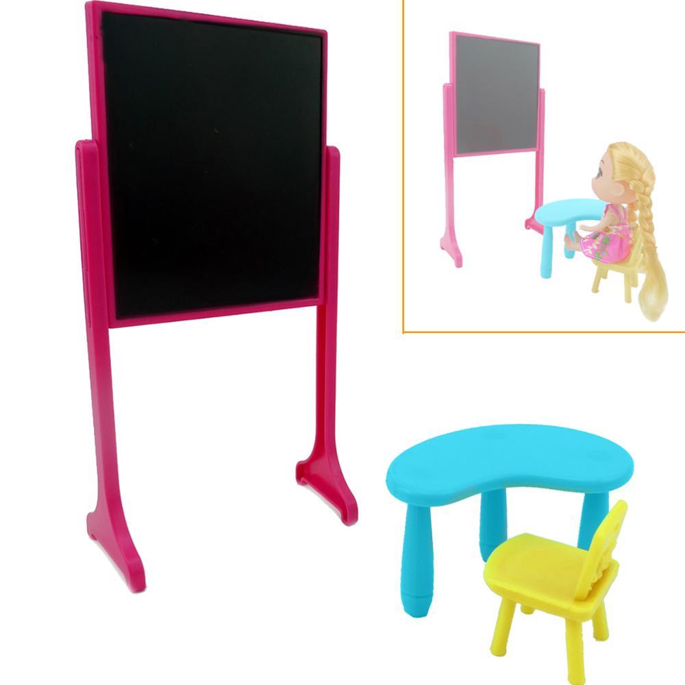 Dolls House Toy Blackboard Miniature 1:12 Scale Nursery School Accessory