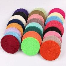 38 цветов, 10 ярдов, 5/8 дюйма(15 мм), эластичная лента, спандекс, для шитья, кружевная отделка, пояс, ленты, сделай сам, для волос, ткань, аксессуары для одежды