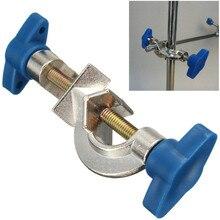 KiCute лабораторный крестообразный зажим лабораторный металлический зажим под прямым углом поддержка лабораторный зажим угловая шина подставка головка босса металлический держатель