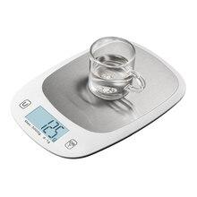 5kgг g/1 г цифровой кухня нержавеющая сталь весы большой еда Диета Кухня пособия по кулинарии Вес Баланс электронные детские весы