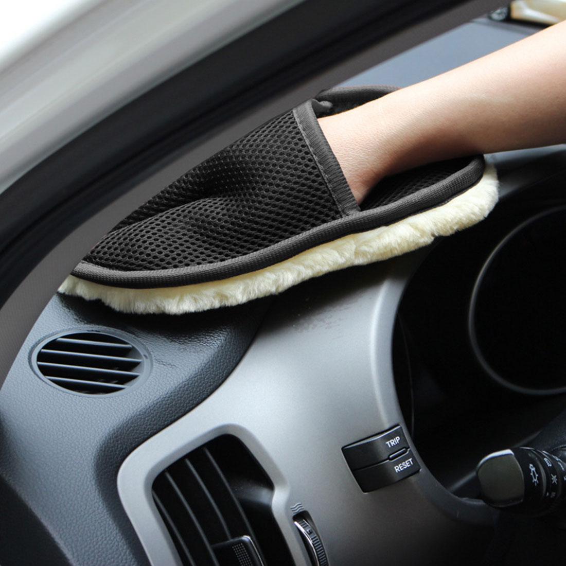 /Éponge de voiture voiture de nettoyage avec d/ésembuage /éponge de verre de d/écontamination brosse /à /éponge double face installation unique 16.5x10.5 /éponge de cire de voiture