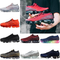 2018 New Vapormax Mens Running Shoes Fashion Athletic Sport Shoe Hot Corss Jogging Walking Outdoor Shoes