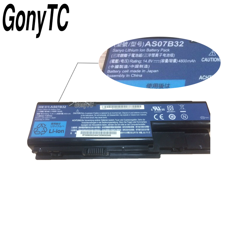Image 4 - AS07B32 Original Laptop Battery for Acer for Aspire 5920 5920G 5930 5930G 5935 AS07B31 AS07B32 AS07B71 AS07B61 AS07B42 AS07B51-in Laptop Batteries from Computer & Office