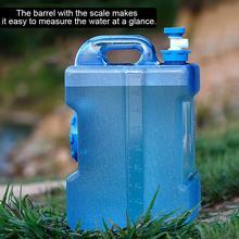 Портативный Открытый питьевой чистый ведро ПК кипящей воды пластиковый резервуар для хранения автомобиля ведро для хранения воды контейнер 12л