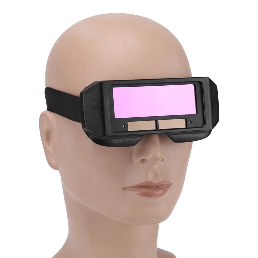 Solar Automatic Darkening Welding Helmet Eyes Dimming Welding Protective Mask Welder Glasses Welding Cap Soldering Mask Tools