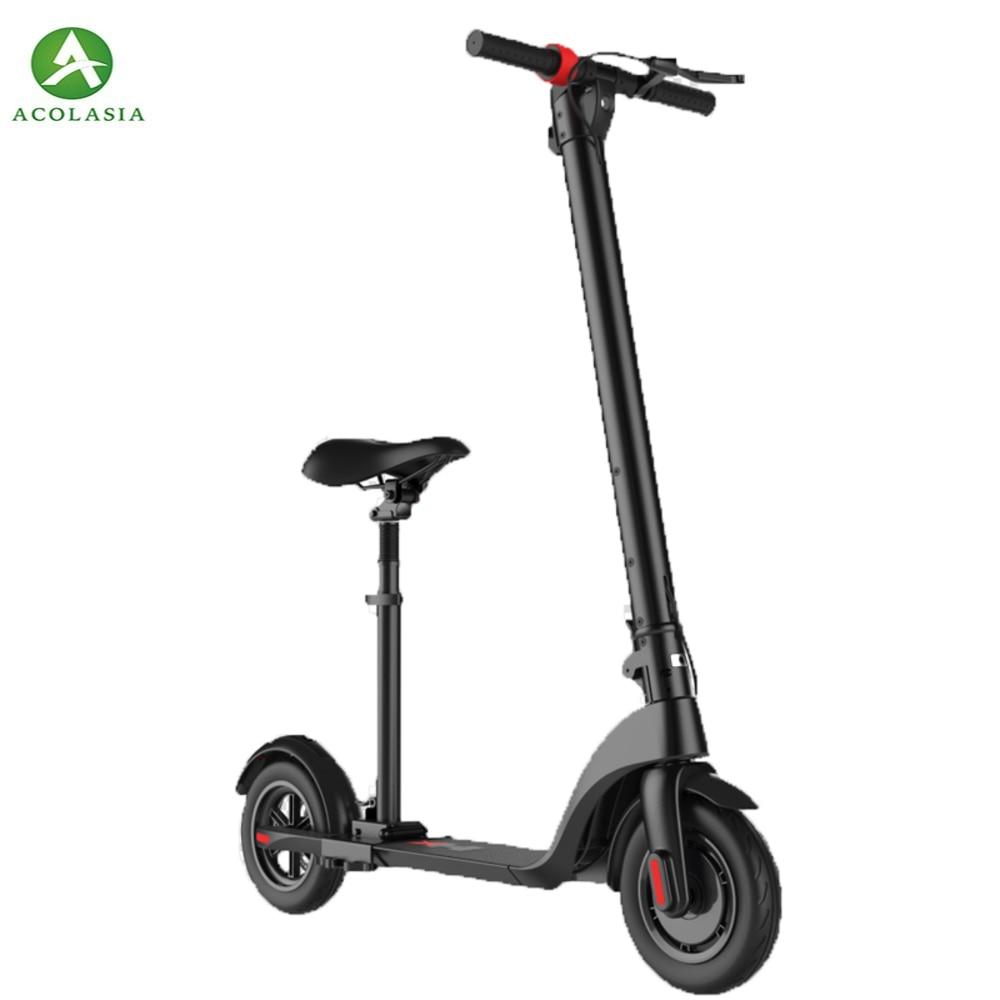Roues de Scooter debout électriques de Scooter de Hoverboard d'alliage d'aluminium-magnésium de Scooter électrique de 8.5 pouces rapides 2