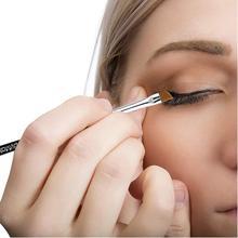 Eyebrow Brush Single Beveled Wooden Handle Eye Powder Foundation Makeup 1pcs