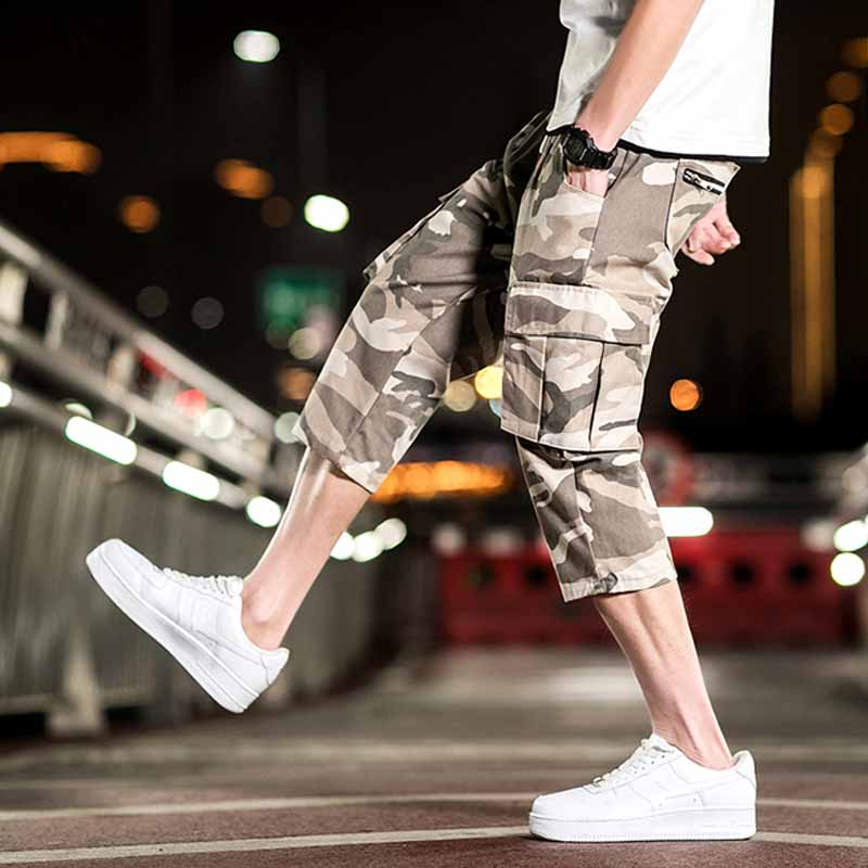Mens Military Cargo Shorts Brand New Army Camouflage Tactical Shorts Men Cotton Loose Work Casual Short Pants Cargo Shorts Men