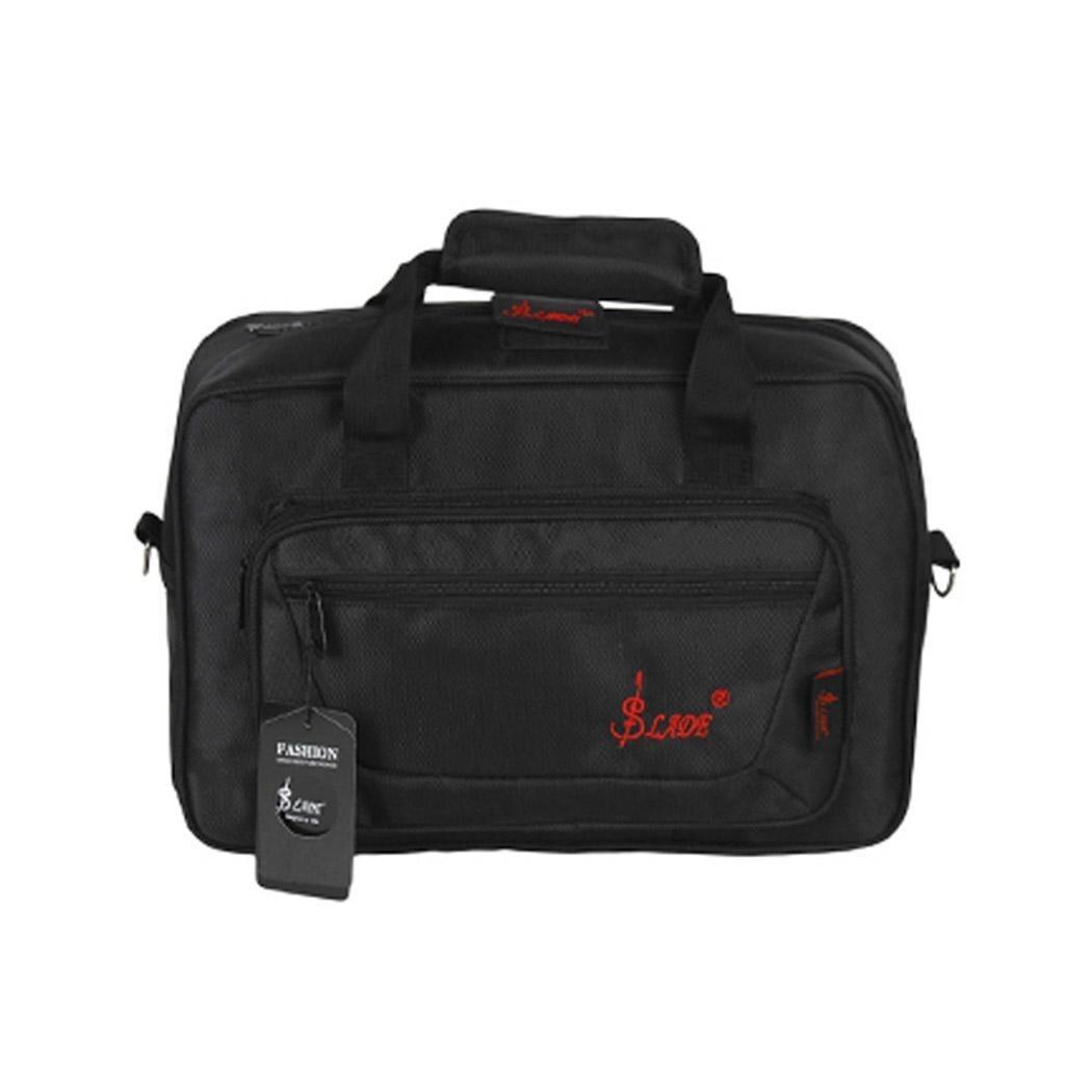 Oboe Bag Musical Instrument Portable Storage Shoulder Strap Portable Storage Zipper Bag Soft Carrying Case Gig Bag