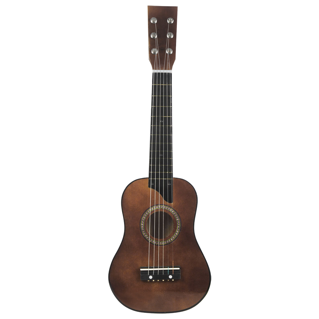 bmdt irin mini 25 inch basswood acoustic 12 frets 6 strings guitar with pick and strings for. Black Bedroom Furniture Sets. Home Design Ideas