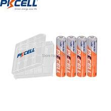 4 шт pkcell aaa 900mwh батарея 16 v ni zn аккумуляторные батареи
