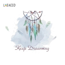 все цены на Laeacco Hand-painted Dream Catcher Backdrop Scenery Photography Backgrounds Customized Photographic Backdrops For Photo Studio онлайн