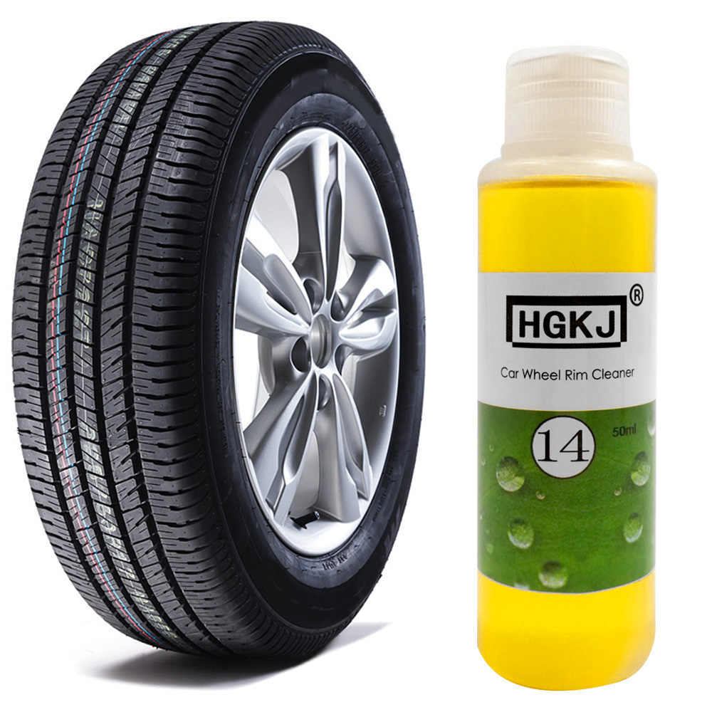 1 PC HGKJ-14 נייד רכב רים ניקוי סוכן 20 ml/50 ml Dropshipping 1:15 גבוהה מרוכז אוניברסלי אוטומטי גלגל צמיג לשטוף טיפול