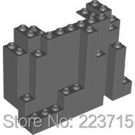 *Mountain Bottom 4X10X6* Y2197 5 Pcs DIY Enlighten Block Brick Part No. 6082 Compatible With Other Assembles Particles