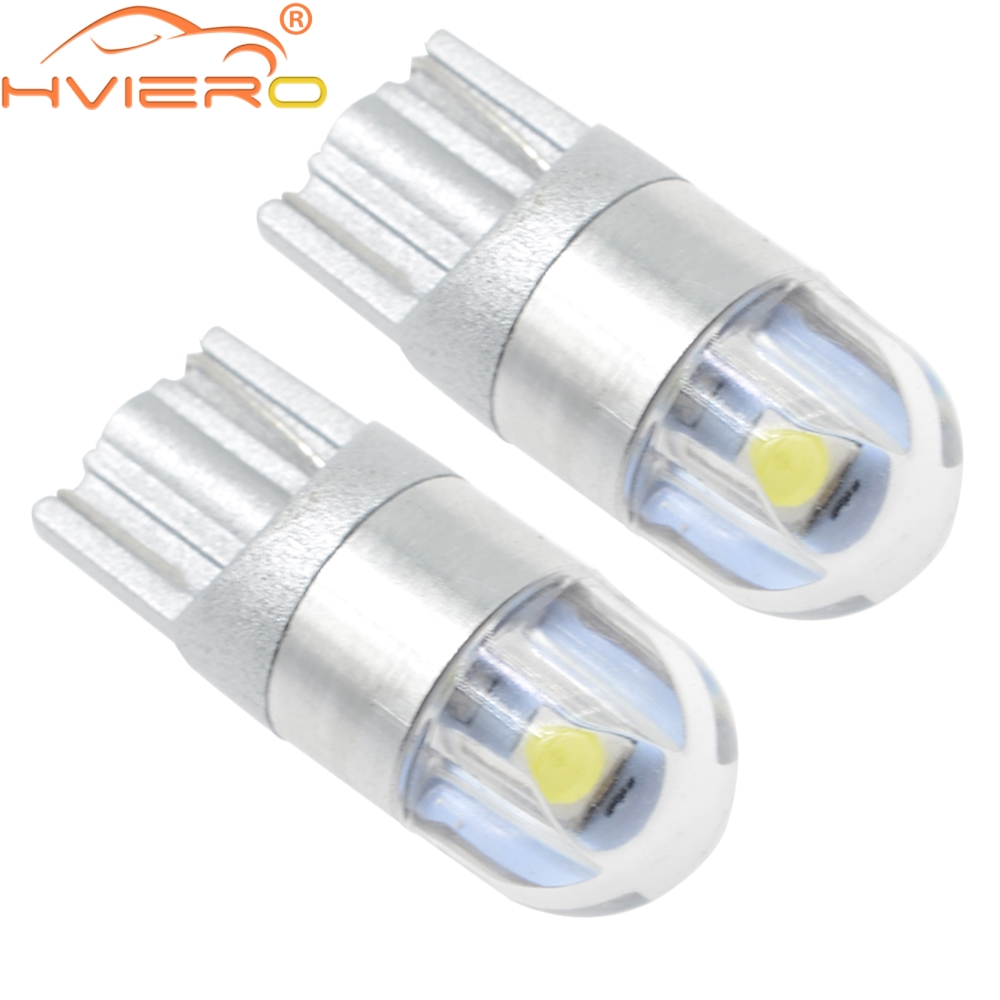 2x 501 T10 194 Wedge Bulb 8 SMD LED Number Plate Indicator Light Sidelight White