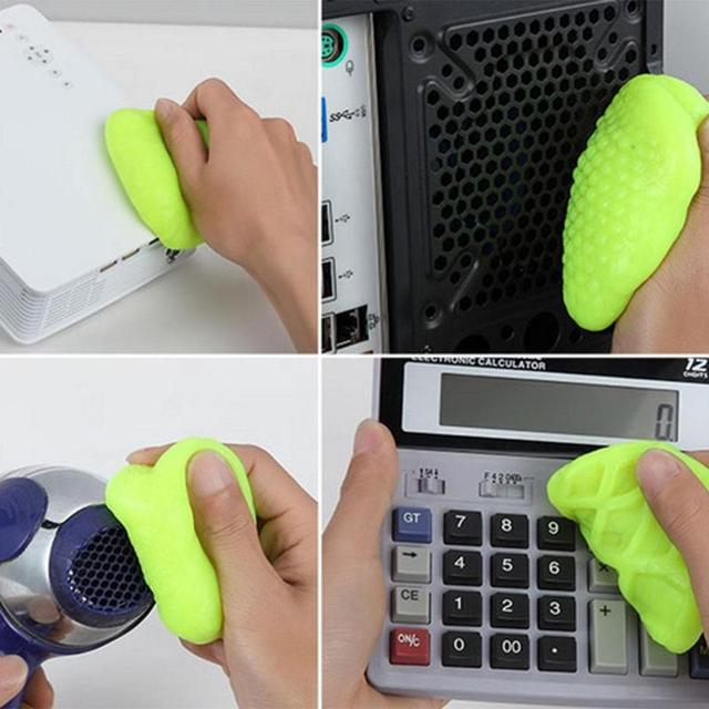 먼지 청소기 복합 슈퍼 깨끗한 칙칙한 젤 와이퍼 전화 노트북 키보드 응용 범위 키보드, 노트북, 휴대 전화