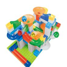 Children Plastic Building Blocks Gear Pinch Walking Ball Slot Toys Cognitive Domino Intellectual Development Christmas Gift