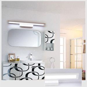 Image 2 - Nowoczesna minimalistyczna lampa ścienna LED lustro łazienkowe kinkiet ścienny 5W 8W 11W szafka z lustrem light AC85 265V