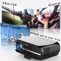 VIVIBRIGHT GP100 Android 6.0 LED Projector 1280x800 Resolution 3200 Lumens Built In WIFI Bluetooth LCD Home Theater