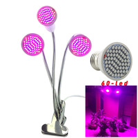 3 head led plant grow light Growing indoor growing lamp for green house seeds growbox grow tent flower room greenhouse hydro