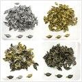 60 шт. 8x15 мм литые бусины, колпачки, античные бронзовые подвески в форме листьев, подвески для самостоятельного изготовления ювелирных издел...