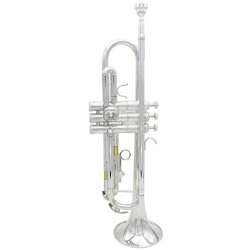 Apprentissage jouet éducatif Instrument de musique professionnel importation laiton argent trompette Performance et convient aux Amateurs
