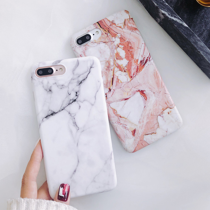 Moskado Shell Phone Case With Glossy Granite Marble Stone Cover For iPhone 11 Pro X XS Max XR 1