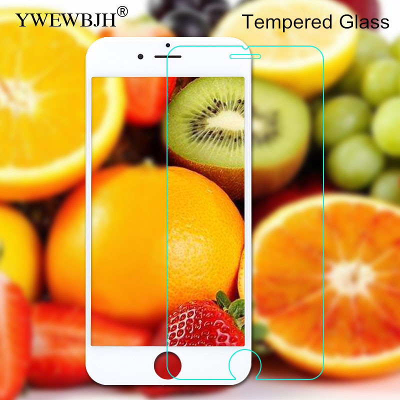 YWEWBJH Protective tempered glass for iphone 6 7 5 s se 6s 8 plus XS max XR x screen protector