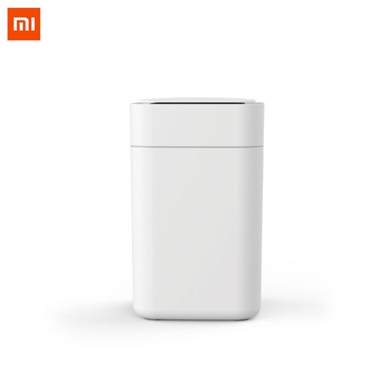 Xiaomi Mijia оригинальный Townew T1 смарт-мусорный бак движения Сенсор Авто уплотнения светодио дный индукции покрытие мусора 15.5L Ashcan бункеров