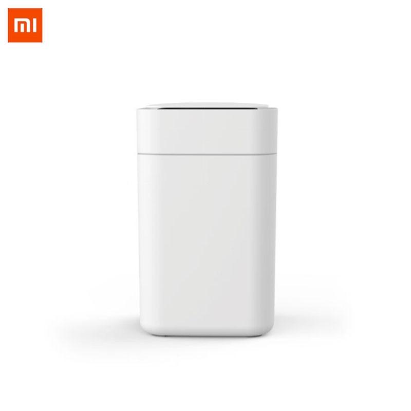 Xiaomi Mijia D'origine Townew T1 Smart Poubelle Motion Sensor Auto D'étanchéité LED Induction Couvercle Poubelle 15.5L Ashcan Bacs