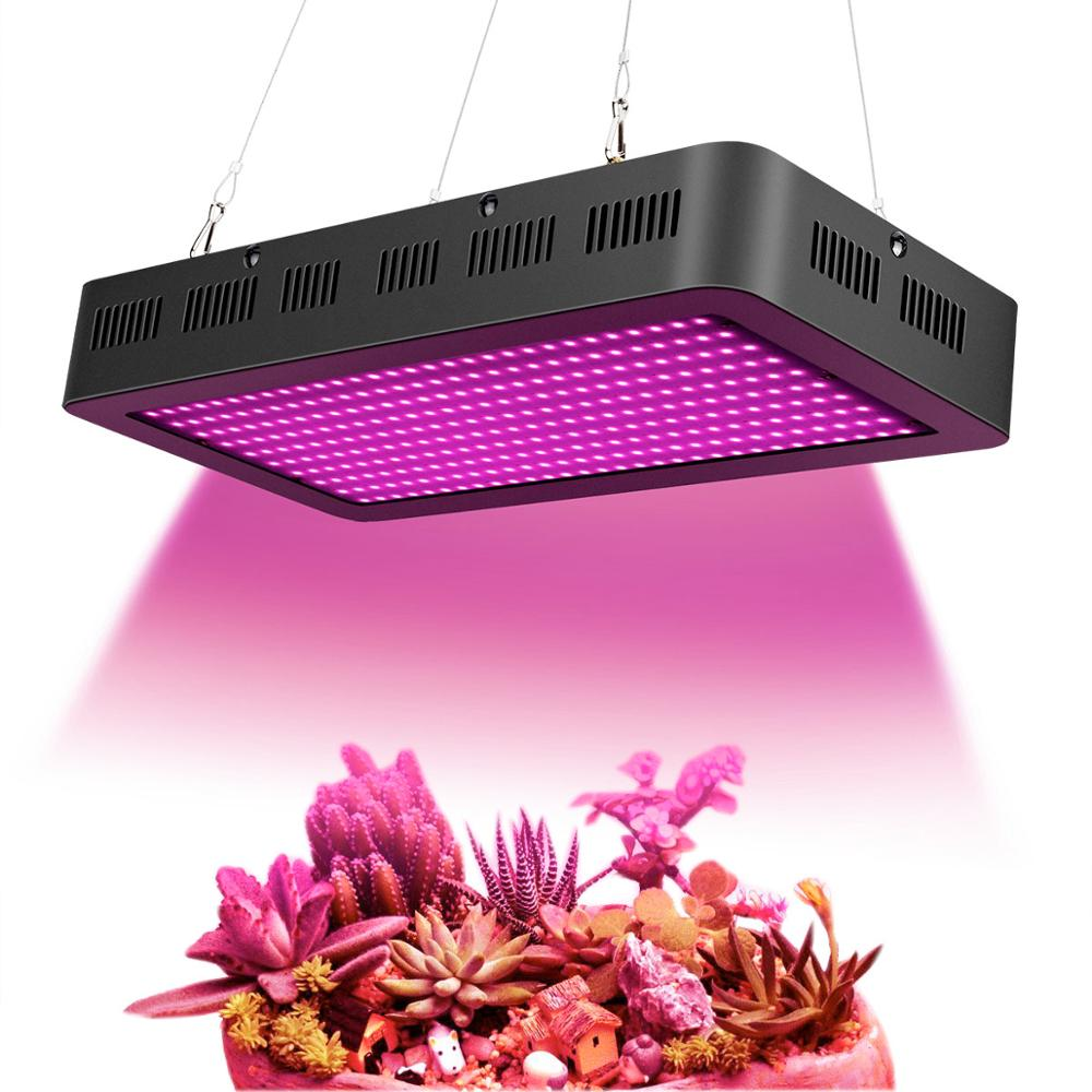 2000w Hydroponics Growing Lamps 380~850nm Full Spectrum Led Grow Light With Red Uv Ir For Indoor Herbs And Plants Veg/Flowering