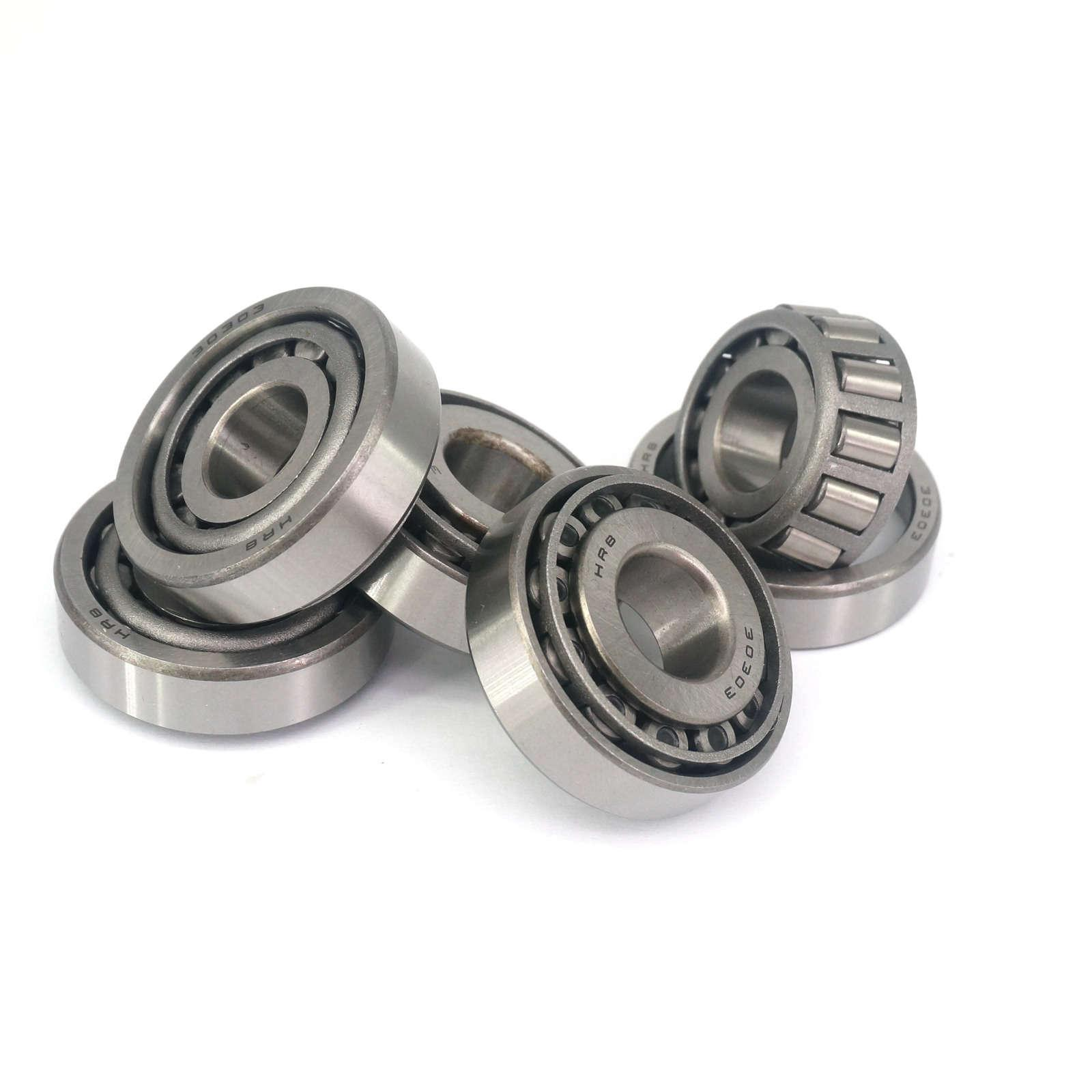 5pcs 17x47x14mm ABEC1 30303 7303E  Conical Tapered Eoller Bearings TRB Bearing Steel