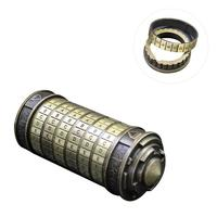 Camping Tool Da Vinci Code Lock Ring Decryption Code Mini Cryptex Innovative Romantic Birthday Gifts for Her