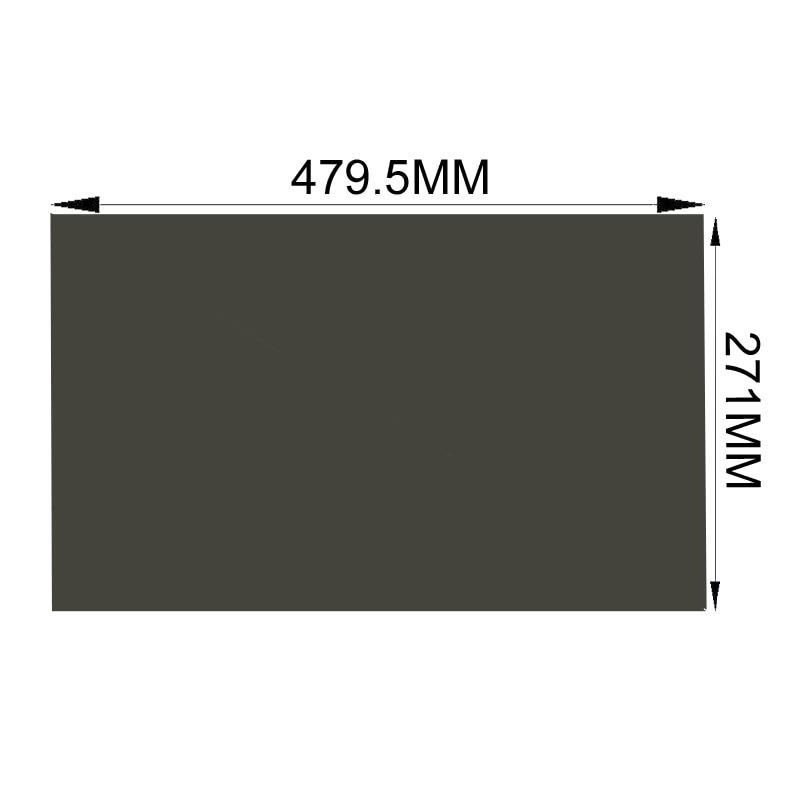 271mm Lcd Polarisierende Film Blätter Für Tft Lcd Led-bildschirm Freies Verschiffen!! 10 Teile/los Großhandel Neue 21,5 Zoll 90 Grad 479,5mm