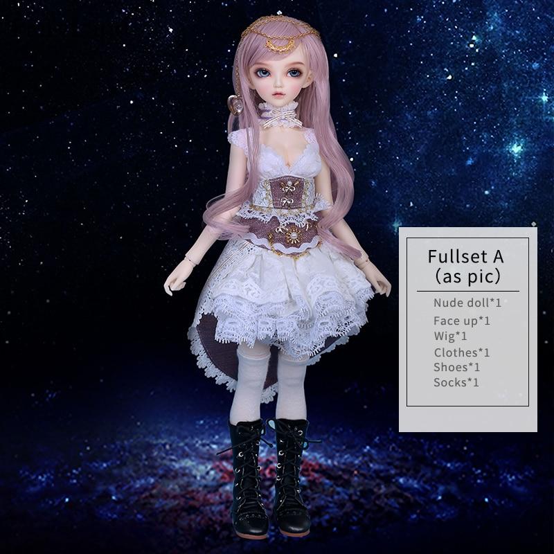 Fairyland Minifee Carol Rendia Chloe Mirwen Eva Rena, полный комплект, посылка, кукла из смолы, набор BJD 1/4 MNF FL