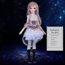 Fairyland minifee carol rendia chloe mirwen eva rena pacote conjunto completo resina boneca bjd kit 1/4 mnf fl