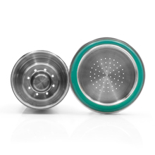 Stainless Steel Metal Nespresso Reusable Refillable Capsule Reusable For Nespresso Machine With Spoon And Brush